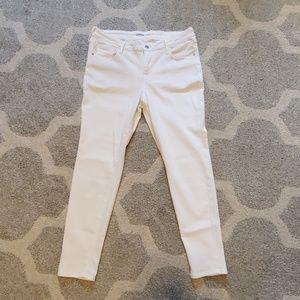 NWOT Old Navy White Rock Star Super Skinny Jeans